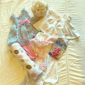 3 month bundle- Bon Bebe, Little Me